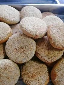 芝麻油酥烧饼